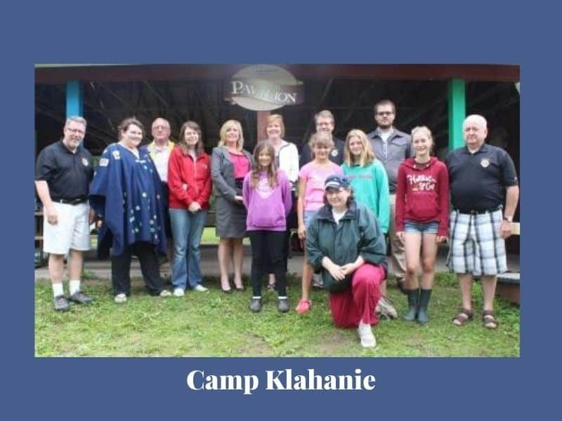 Camp donation